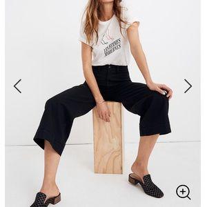 Madewell Emmet Wide-Leg Crop Pant